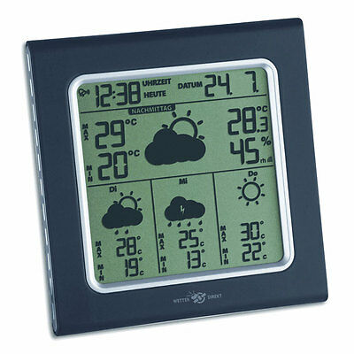 Wetterstation Wettercenter Tfa 35.5001 It Galileo Plus Wetterdirekt Funkstation