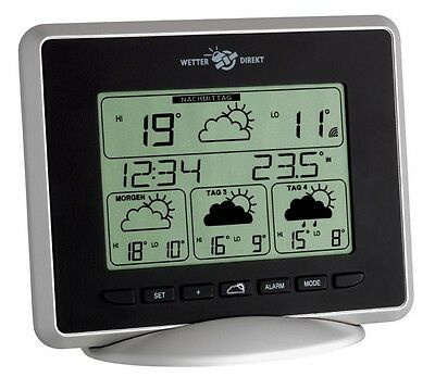 Wetterstation Triton 300 Black Tfa 35.5022.it Wetterdirekt Satellitenwetter Funk
