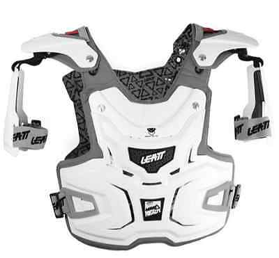 Leatt Adventure Chest Protector Body Armor Brace White One Size
