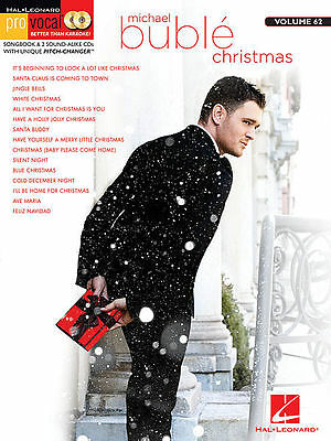 Michael Buble - Christmas - Pro Vocal Men's Edition Book/cd Vol 62