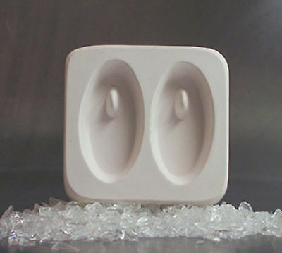 Holey Casting Ovals Jewelry/Earring Mold for Fusing Glass Frit