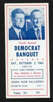 "The ""Spooky"" Democrat Banquet of 1964"