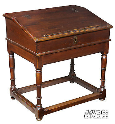 SWC-William & Mary Desk on Frame, c.1690-1730, Williams College