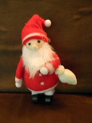 Scandinavian Swedish Santa Claus Tomte with sack #963