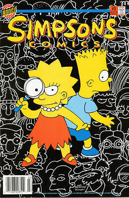 Bongo comics Simpsons #3 NM