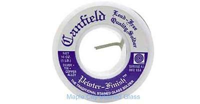 Stained Glass Canfield Lead Free Pewter Finish Premium Solder, Made in USA