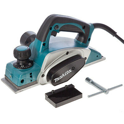 """Makita KP0800 3""""/82mm Heavy Duty Planer 2mm Cut 620w 110V with wrench & Blade"""