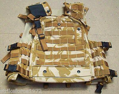 NEW - Desert Osprey Mk3 Body Armour Flak Vest Cover Complete - New Size 170/100
