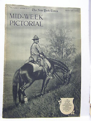 Oct 18,1917 NY TIMES Mid-Week Pictorial Magazine-AEF/American Aircraft/Autos/WW1