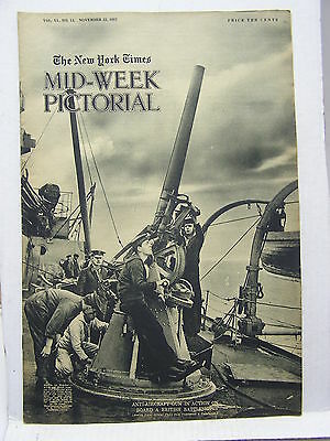 Nov 22,1917 NY TIMES Mid-Week Pictorial Magazine-American Soldier Eq/Zeppeln/WW1