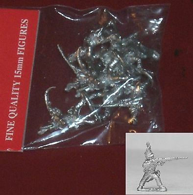 Essex PPN47 15mm Napoleonic Prussian Grenadiers Firing (8) Miniatures Infantry