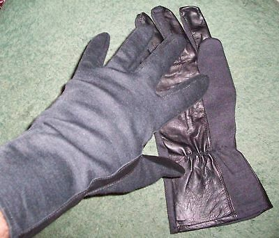 >>> Nomex Pilots / Combat Gloves - Leather Palm Black - Special Price <<<