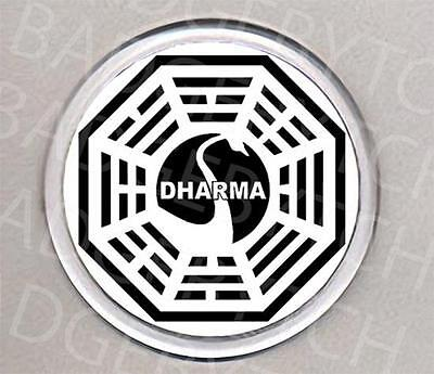 LOST DHARMA SWAN round COASTER - COOL!