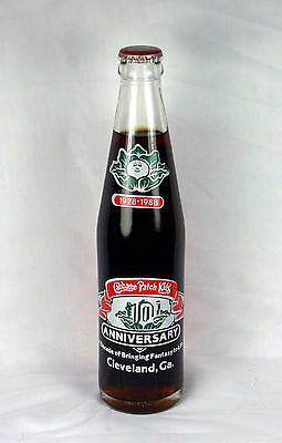 Full 10 oz Tall Coke Bottle: Cabbage Patch Kids 10th Anniversary Cleveland, GA