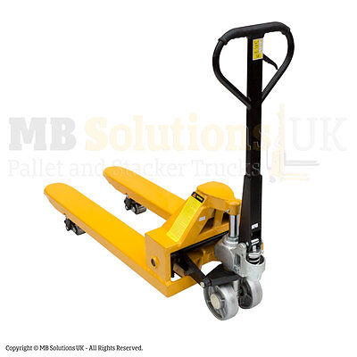 New 5000 kg Pallet Truck 5 Ton Capacity Vat Included In stock