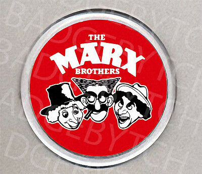 THE MARX BROTHERS round drinks COASTER -  CLASSIC!