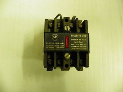 Allen Bradley #700-NM-200-A1 2p Latch Relay (U) RS1/3