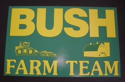 Bush Cheney 2004 Farm & Ranch Campaign Poster