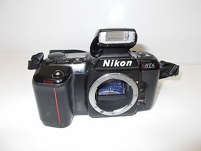 Used Nikon N6006 SLR 35mm Film Camera Body Only Tested Working