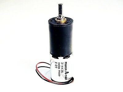 Maxon A-max 314436 36 VDC 250 RPM Swiss Made DC Gear Motor (Ships Free from US!)