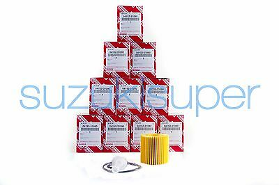 10 Genuine Toyota Oil Filter 04152-31090 Element Kit Aurion Kluger RAV 4 Tarago