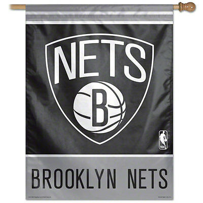 Brooklny Nets 27X37 Flag/banner New & Officially Licensed