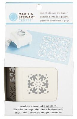 Martha Stewart Punch All Over the Page *Scallop Snowflake Pattern*  42-91003