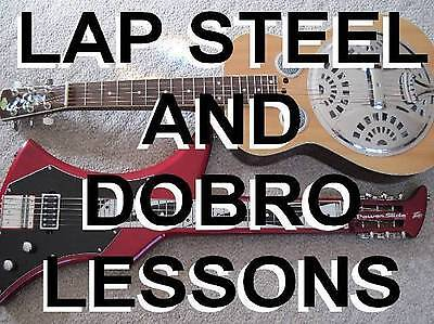 Blues Lap Steel & Dobro Resonator Lessons For Guitar Players DVD Slide Time!