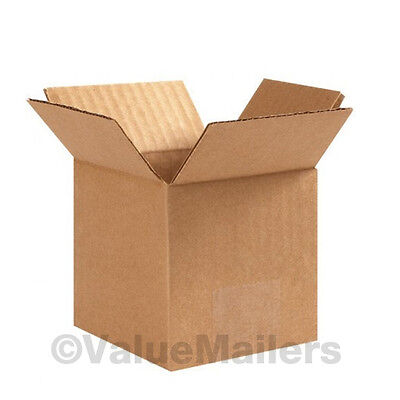25 12x12x4 Packing Shipping Cartons Corrugated Boxes