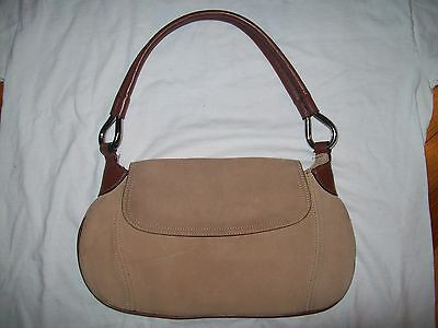 The Limited Genuine Suede Leather Women's Handbag Purse Gently Used Nice