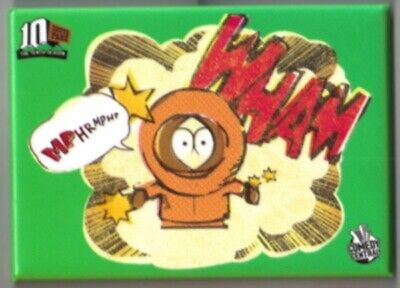 South Park Kenny Figure, Mphr, Mphr Wham Refrigerator Magnet, NEW UNUSED