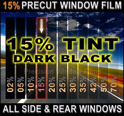 Chevy Cruze 2010-2015  PreCut Window Tint - Dark Black 15% VLT Film