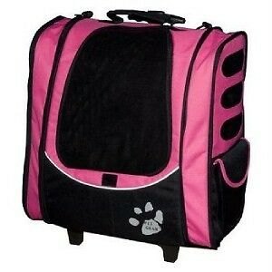Pet Gear I-GO2 ESCORT 5in1 Dog Carrier Tote PINK