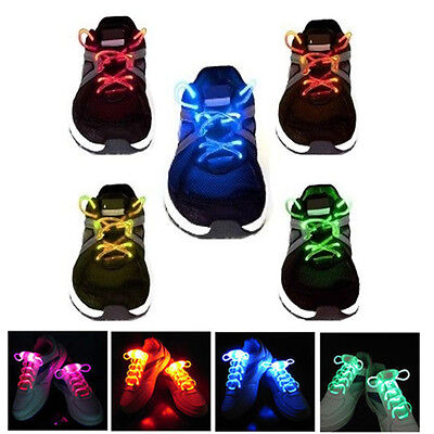 GearXS Light-Up LED Waterproof Shoelaces - 3 Modes (On, Strobe & Flashing)