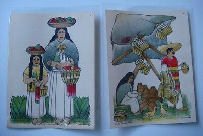 Vintage 1946 Mexican 12-print portfolio Costumes/Customs Mexico NORMAN H. KAMPS