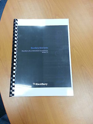Blackberry Bold 9900 Full Printed User Manual Guide Instructions 369 Pages