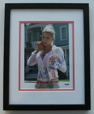 Nicollette Sheridan Signed Framed Sexy Desperate Housewives 8x10 Photo (PSA/DNA)