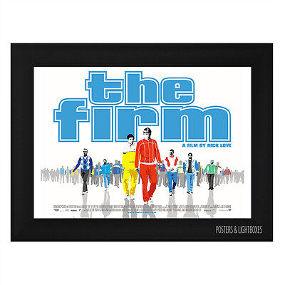 THE FIRM Framed Film Movie Poster A4 Black Frame