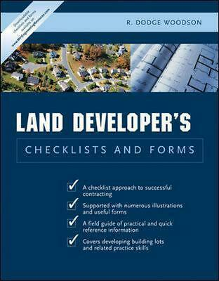 Residential Land Developer S Checklists and Forms by R. Dodge Woodson (English)