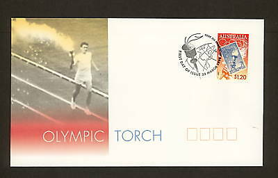 1999 FDC1853 OLYMPIC TORCH First Day Cover