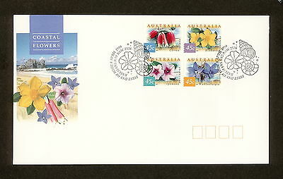 1999 FDC1857 COAST FLOWERS BLOCK 4 First Day Cover