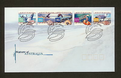 1999 FDC1862 COASTAL WILDLIFE First Day Cover