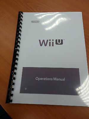 Nintendo Wii Wii User Manuals Instruction Booklets Leaflets Vgc