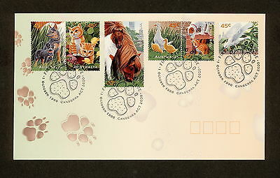 1996 FDC1650 PETS First Day Cover