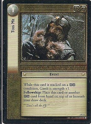 Lord of the Rings CCG - EOF - Toss Me #11 Rare