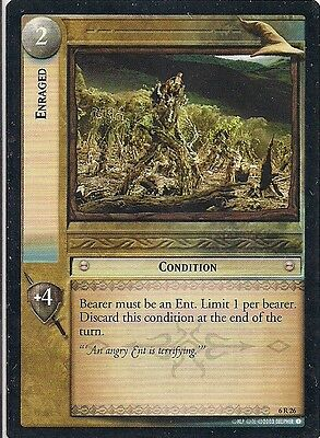 Lord of the Rings CCG - EOF - Enraged #26 Rare