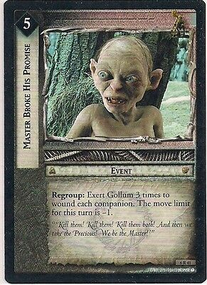 Lord of the Rings CCG - EOF - Master Broke His Promise #41 Rare