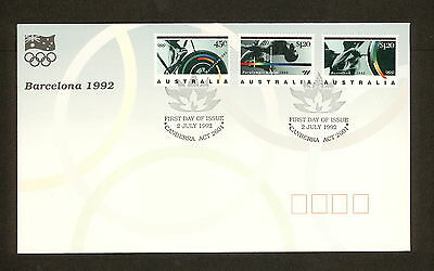 1992 FDC1360 BARCELONA OLYMPICS First Day Cover