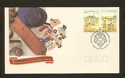 1992 FDC1382 SHEFFIELD SHIELD First Day Cover