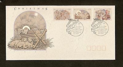 1991 FDC1311 CHRISTMAS (3) First Day Cover